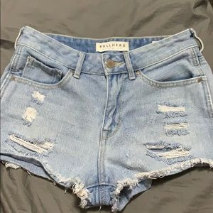 Bullhead denim co. pacsun high rise short